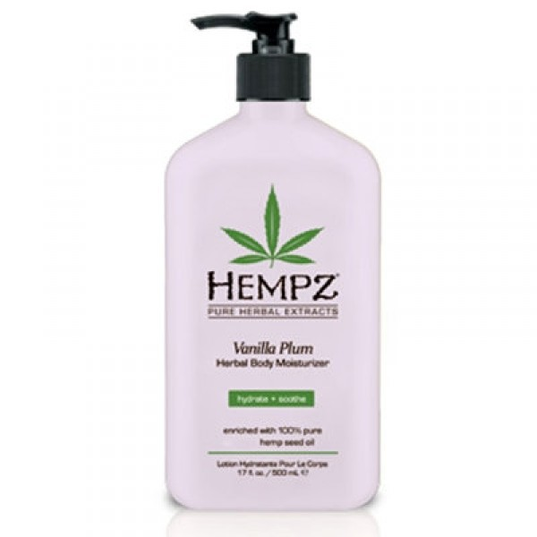 Herbal Body Moisturizer Vanilla Plum