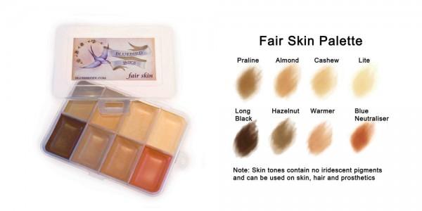 Fair Skin Palette
