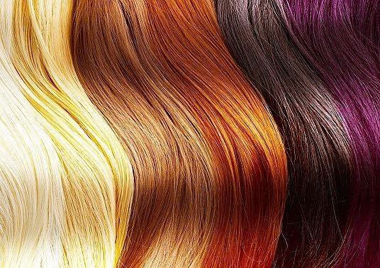 Haarfarbe ab