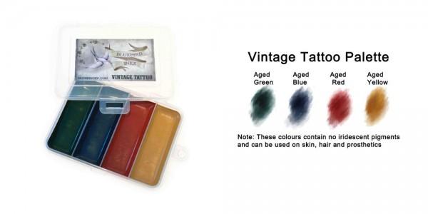 Vintage Tattoo Palette