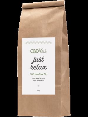 CBD Hanfblütentee Just Relax 1,9% 100gr