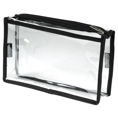 Settasche durchsichtig mit Reißverschluss MST-016