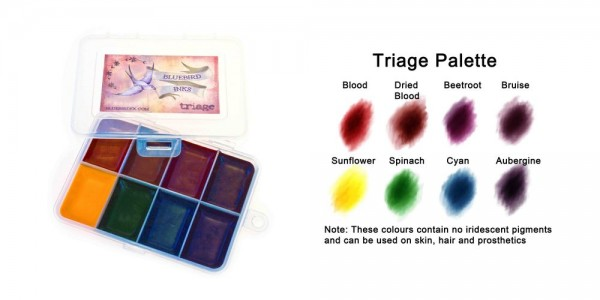 Bluebird Triage Palette