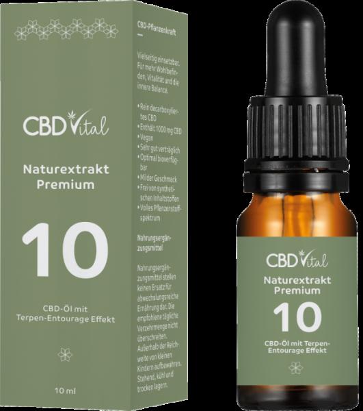 CBD Hanföl Premium 10 % 10ml